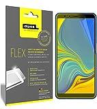 dipos Samsung Galaxy A7 (2018) Pellicola Protettiva, Rivestimento del Display al 100%, 3X Pellicola Protettiva per Display Flex