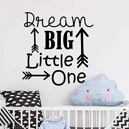 WWYJN Arrow Wall Stickers Home Decor Adventure Style Wall Art Mural Children Boy Room Quote Wall Art Poster Black 42x28cm Western-handy-fall