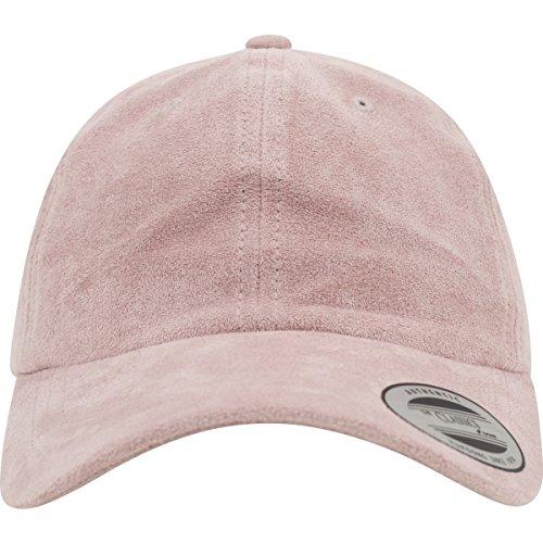 Velour-baseball-cap (Flexfit Low Profile Velours Caps, Lightrose, one size)