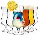 Bormioli Cocktailglas Set 'Tropical' 6 teilig | Füllmenge 500 ml | Gesamthöhe des Glases 19,7 cm |...
