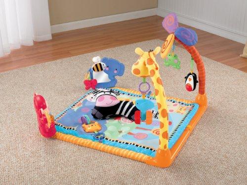 Imagen 3 de Fisher-Price - W2620  - Gimnasio abierto para animales [Importado de Alemania] (Mattel)