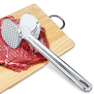 aigumi Zwei Seiten Aluminium Metall Fleisch Mallet Tenderizer Huhn Rindfleisch Steak Hammer Küche Werkzeug