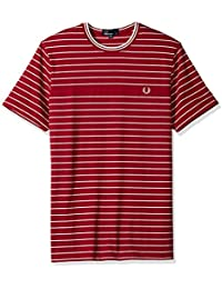 Fred Perry - T-shirt - Homme rouge Red