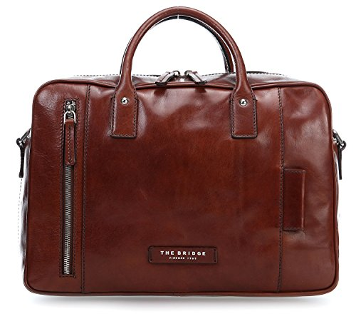 The Bridge Passpartout Ventiquattrore pelle 36 cm braun, braun
