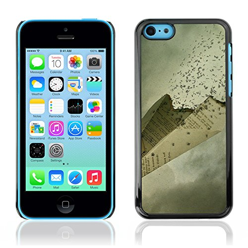 Graphic4You Artistic Cherry Tree Design Harte Hülle Case Tasche Schutzhülle für Apple iPhone 5C Design #15