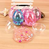 #10: Party Propz® Soft Pearl Mud Egg Slime Stress Relief Toy Develop The Kids' Creativity (Set of 6)