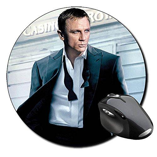 Preisvergleich Produktbild James Bond 007 Casino Royale Daniel Craig A Mauspad Round Mousepad PC