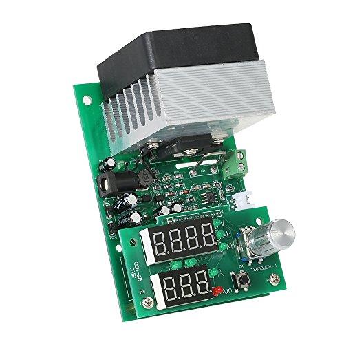 Hylotele Multifunktionale Konstantstrom-Elektroniklast 9.99A 60W 30V Entladungsnetzteil Batteriekapazitäts-Tester-Modul