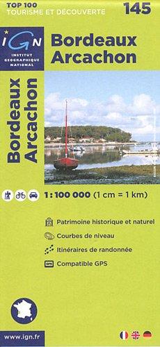 TOP100145 BORDEAUX/ARCACHON 1/100.000