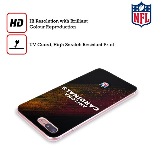 Offizielle NFL Fussball Arizona Cardinals Logo Soft Gel Hülle für Apple iPhone 6 Plus / 6s Plus Unschärfe