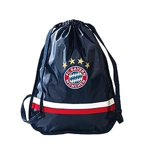 FC Bayern München 18955 Sportbeutel Logo navy