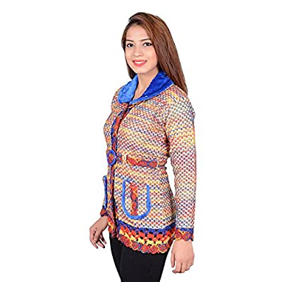 High Hill Women's Wool Quilted Cardigan