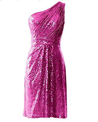 Leader of the Beauty - Robe - Femme Fuchsia