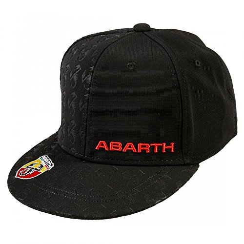 abarth-baseball-cap-flat-visor-black