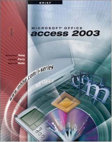 I-Series: Microsoft Office Access 2003 Brief por Stephen Haag