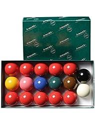 Jeu de 17 Billes ou Boules de Billard Snooker Aramith 50.8 mm - Aramith