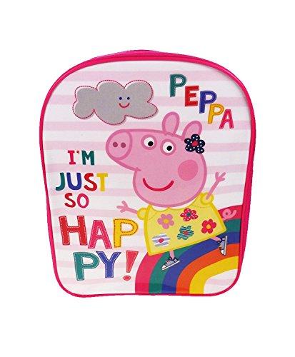 Peppa Pig Kinderrucksack, Weiß - rose, PEPPA001415-97 (Peppa Pig Lunch)