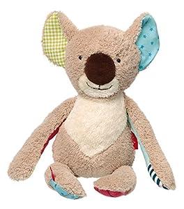 Sigikid 38846Patchwork Sweety-Peluche de Koala, 34x 13x 9cm