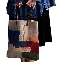 Ysting tote a mano - Feltro di lana Borsa - bella borsa - Borsa a mano - Borsa in feltro di lana - grande borsa della borsa a mano Knit-infeltrito