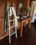 wohnfreuden Teak Holz Handtuchhalter Ablage recycelt Natur Whitewash 160 cm