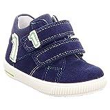 Superfit Baby Jungen Moppy Sneaker, Blau (Nautic Kombi), 25 EU
