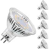 LE 5er GU5.3 LED Lampen Birnen, ersetzt 35W Halogenlampen, MR16 3.5W 12V, 280lm, Warmweiß, 2700 Kelvin, 120 ° Abstrahlwinkel