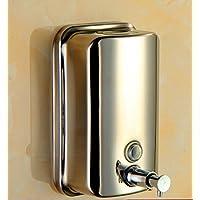 Bene 28205 dispensador de jabón, 304 Acero inoxidable 18/8, Modelo de pared