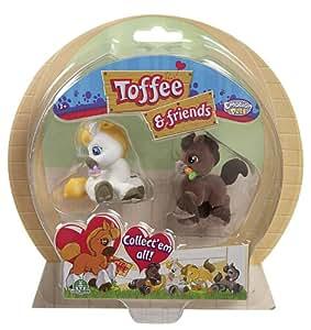 Giochi Preziosi 70150071 - Toffee and Friends 2 Figuren Blister, 5 cm