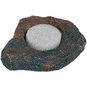 Dragon - Wasserschale - Futternapf - mini mini ca.10ml Lava Rock mit Schwamm BTH 6x6x2 cm
