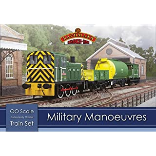 Bachmann 30-130 Military Manoeuvres TrainSet