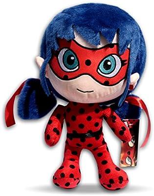 Ladybug 60cm Peluche XXL Prodigiosa Las aventuras de Ladybug Muñeca Superheroína Marinette Miraculous Vestido Mariquita