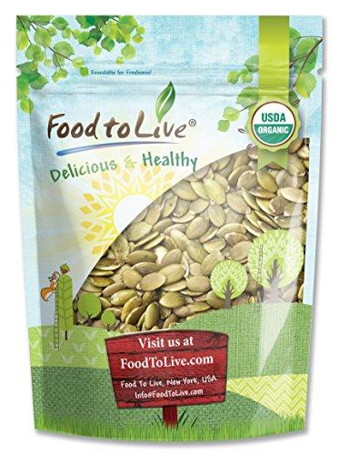 (Bio Pepitas/Kürbiskerne durch Food to Live (Roh, Keine Schale, Koscher) - 1 Pfund)