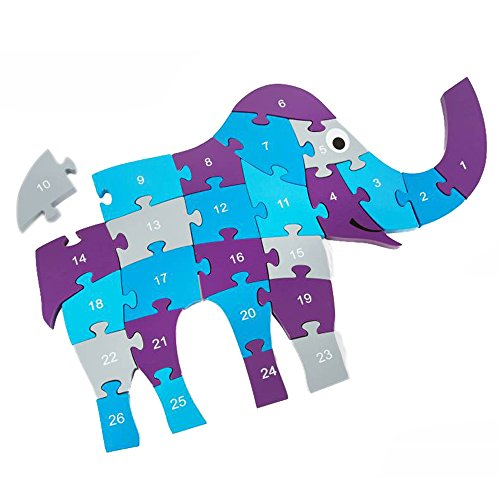 BuitenSpeel B.V. GA236 - Puzzle Elefante, 40 x 60 cm