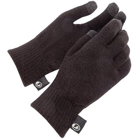 Ultrasport 49006 - Guantes de lana unisex, color negro, talla S