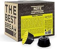 Note d'Espresso Italiano - Cápsulas de Té al Limón compatibles con cafeteras Dolce Gusto , 48 unidades de
