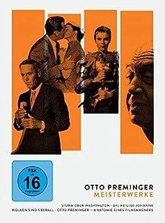 Otto Preminger - Meisterwerke: Sturm über Washington / Die heilige Johanna / Wolken sind überall / Otto Preminger - Anatomie ei