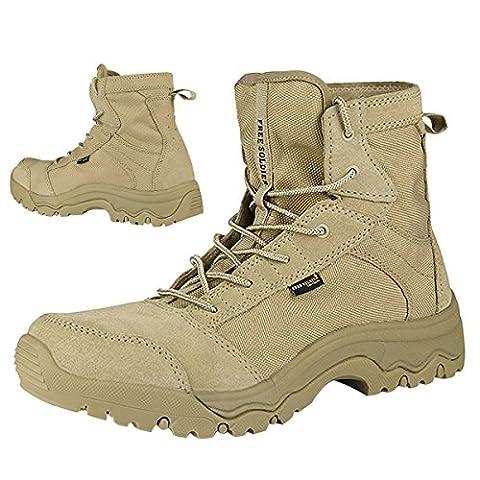 Free Soldier Messieurs Outdoor tactique Chaussures étanche Utilisation Bottes Kraz haft lutte tactiquement Bottes de sécurité 44
