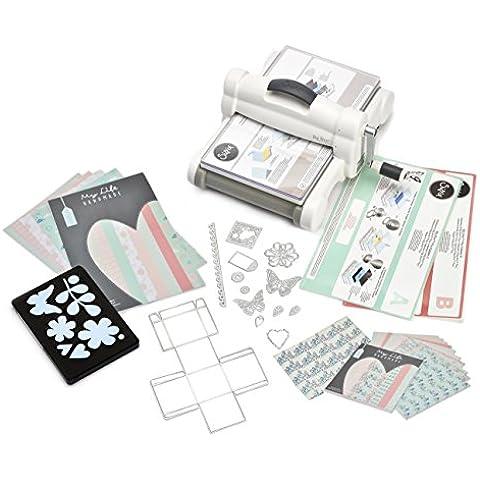 Sizzix 661546 - Kit Esencial para corte forma y realce (plástico/ acero/ caucho), mulitcolor