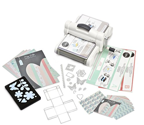 Sizzix 661546 Big Shot Plus Kit de démarrage scrapbooking machine de découpe...