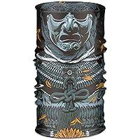 The Ancient Samurai 16-in-1 Magic Scarf,Face Mask,fishing Mask,Thin Ski Mask,Neck Warmer Balaclava Bandana For Raves,Dust,Riding Bike,Motorcycle,Outdoor Activities