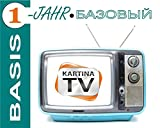 Kartina.TV 1 Jahr Abo BASIS ohne Vertragsbindung Ruskoe TV Archiv Videothek