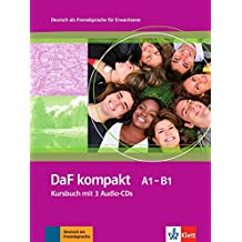 DaF Kompakt - Nivel A1-B1 - Libro del alumno + 3 CD (Edición en un solo volumen) (ALL ADULTE 5.5%)