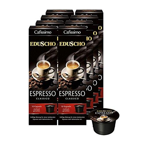 Tchibo Eduscho Cafissimo Espresso Classico Kapseln, 80 Stück