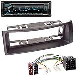 caraudio24 Kenwood KDC-BT530U AUX MP3 Bluetooth USB CD Autoradio für Renault Megane Scenic bis 03 schwarz