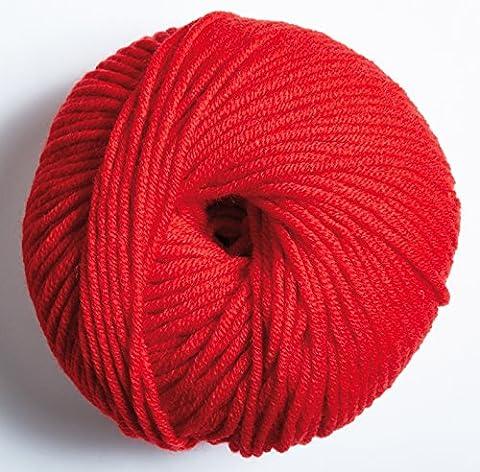DMC laine 5–100% laine mérinos pour crochet et boule à tricoter 50g 105