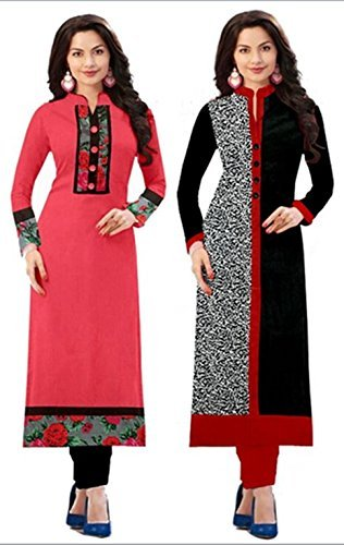 Navratri New Combo Kurties Collection Low Price Printed Pink Kurti For Girl Cotton Low Price Amazon Prime Kurti...