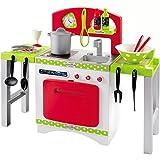 Unbekannt Gourmet Spielküche mit Backofen, Spüle und Herd, 64 x 54 cm: Spielzeug Spiel Küche Kinder Kinderküche Puppenküche