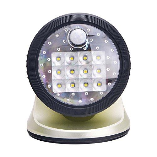 Light It von Fulcrum 20034–101Wireless 12Veranda Licht, silber, metall, silber, 1 Packung 30 volts