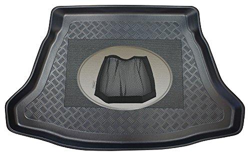 Preisvergleich Produktbild ZentimeX Z3078280 Kofferraumwanne + Klett-Organizer für Toyota Prius 4 ZVW50 Schrägheck Hatchback 5-türer 2016-