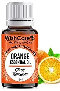 WishCare® Orange Essential Oil 15 ML - 100% Pure, Undiluted & Natural